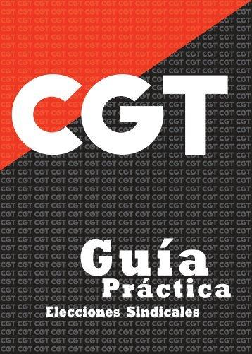 Guía Práctica Elecciones Sindicales - CGT Banesto