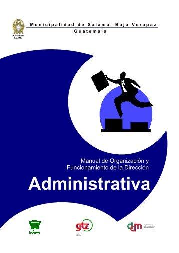Manual Dirección Administrativa FINAL - ANAM