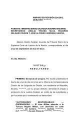 Amparo en Revisión 224/2012 - Fuero Militar - Suprema Corte de ...
