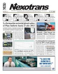 La formación sectorial girará sobre el Plan Imforte ... - Nexotrans.com