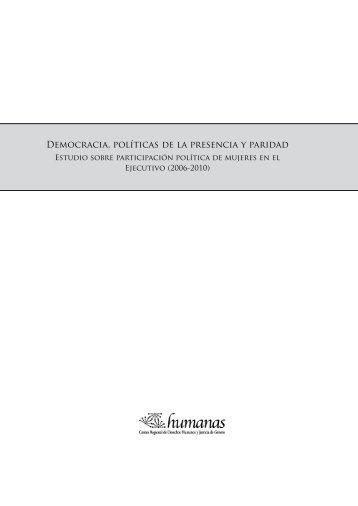 Democracia, políticas de la presencia y paridad - Corporación ...