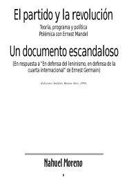 Nahuel Moreno - PHL © Elysio - LIT