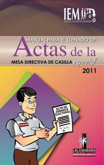 1 - Instituto Electoral de Michoacán