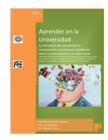 Cuadernillo leer y escribir - Estudia en la UNCO - Universidad ...