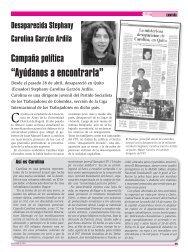 Campaña política internacional. Búsqueda de Stephany Carolina ...