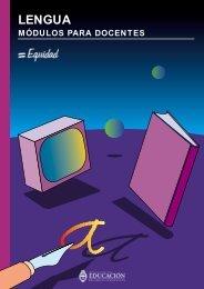 Lengua para docentes - Región Educativa 11