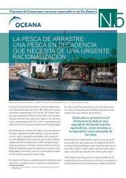 la pesca de arrastre: una pesca en decadencia que ... - Oceana
