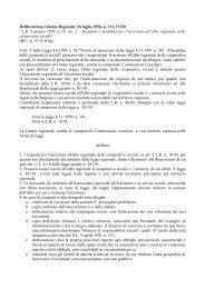 """Deliberazione Giunta Regionale 26 luglio 1994, n. 311-37230 """"LR 9 ..."""