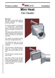 Mini Heat Fan Heater - ACO Funki