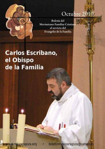 Octubre 2010 Carlos Escribano, el Obispo de la ... - MFC Zaragoza