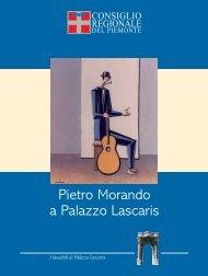 Pietro Morando a Palazzo Lascaris - Consiglio regionale del Piemonte