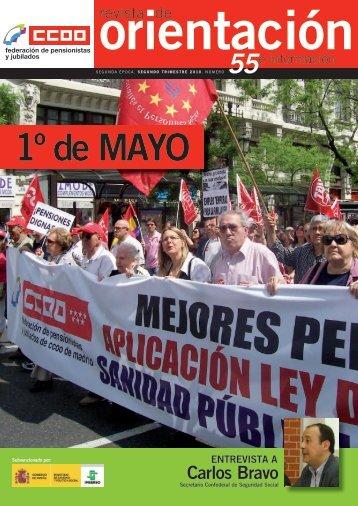 documento - Comisiones Obreras - Federación de Pensionistas y ...