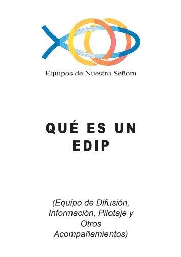 Qué es un EDIP