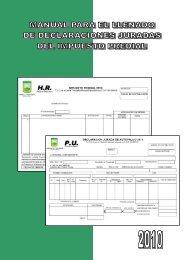 Manual llenado del Formularios de Declaración Jurada (HR