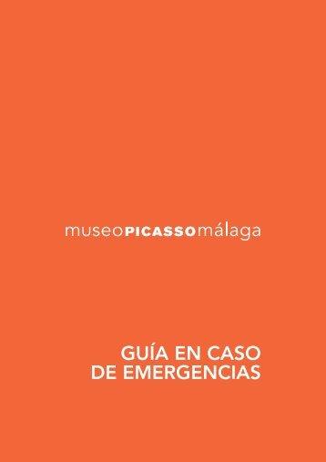 Guía en caso de emergencias - Museo Picasso Málaga