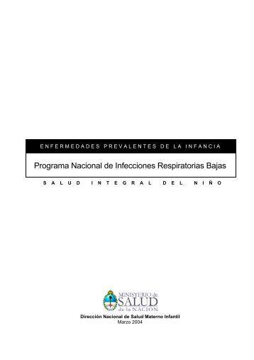 Programa Nacional de Infecciones Respiratorias Bajas