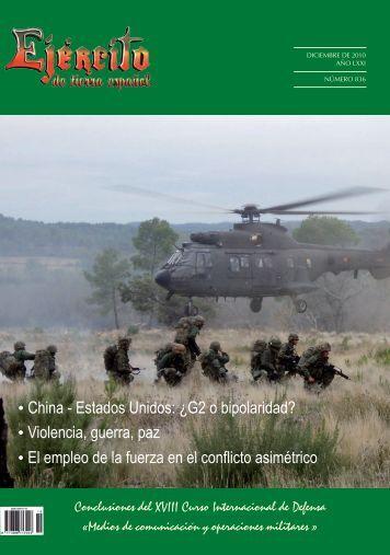 REVISTA EJÉRCITO Nº 836. DICIEMBRE 2010 - Portal de Cultura ...