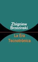 Lib – La Era Tecnotronica – Brzezinski – 1970 - Roberto Igarza