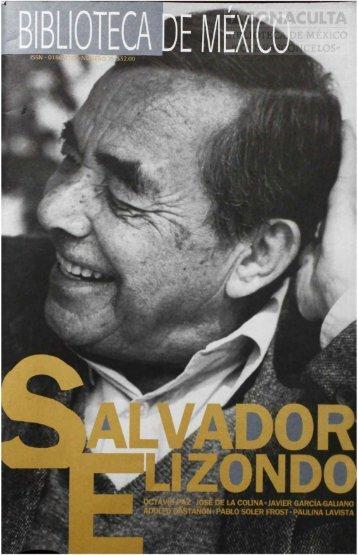 SALVADOR ELIZONDO - Dirección General de Bibliotecas