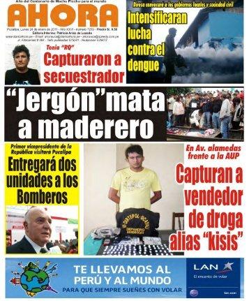 "Capturan a vendedor de droga alias ""kisis"" - san martín - yurimaguas"
