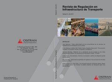 Revista de Regulación en Infraestructura de Transporte - Ositran