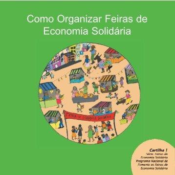 Como Organizar Feiras de Economia Solidária - Marca do Governo ...