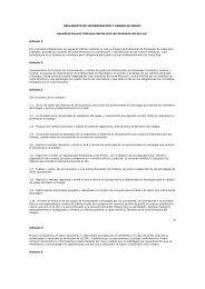 reglamento de incorporación y cambio de grado - Colegio ...