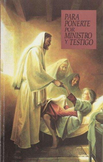 para ponerte por ministro y testigo, guia de estudio del sacerdocio 2