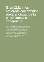 II. La OMC y los acuerdos comerciales preferenciales: de la ...