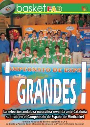 Basket FAB nº 34 - Federación Andaluza de Baloncesto