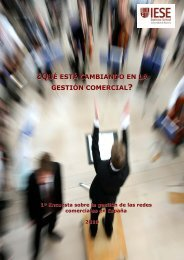 ¿qué está cambiando en la gestión comercial - IESE Business School