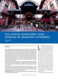 Los centros comerciales como producto de desarrollo ... - Mercasa