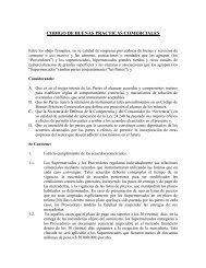 CODIGO DE BUENAS PRACTICAS COMERCIALES - Centromarca