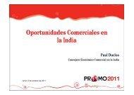 Oportunidades Comerciales en la India - Siicex