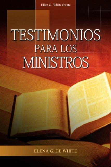 Testimonios para los Ministros (1979) - Ellen G  White Writings