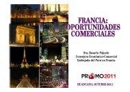 FRANCIA: OPORTUNIDADES COMERCIALES FRANCIA ...