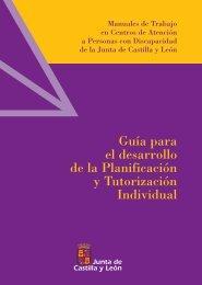 Guía para el desarrollo de la Planificación y Tutorización Individual