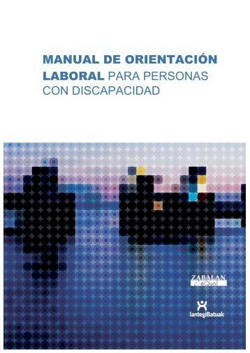 manual de orientación laboral para personas con - Discapnet