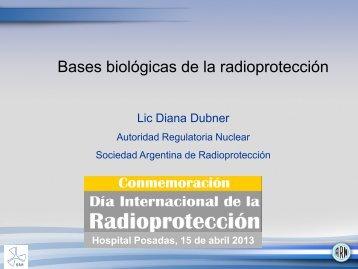 Bases biológicas de la radioprotección. Lic ... - Hospital Posadas