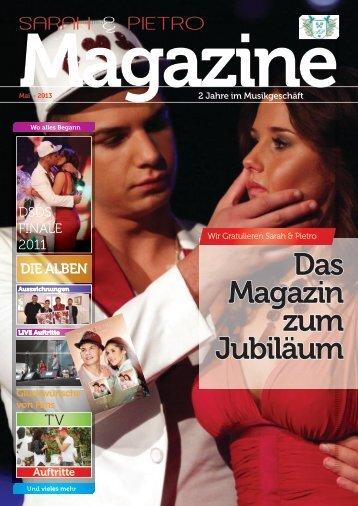 Magazin Sarah & Pietro  Mai 2013