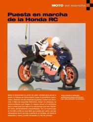 Puesta en marcha de la Honda RC - Planeta DeAgostini