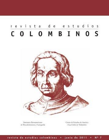 revista de estudios colombinos • junio de 2011 • Nº 7