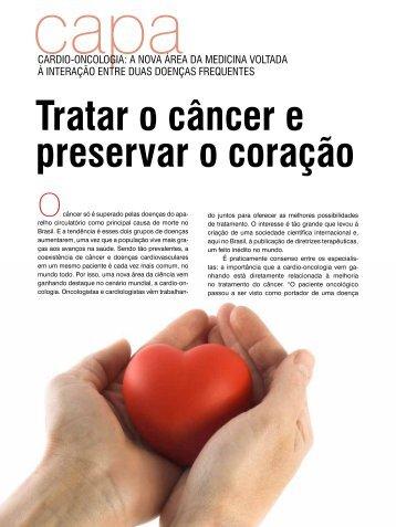 Tratar o câncer e preservar o coração - Instituto Nacional de Câncer