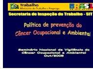 política - Instituto Nacional de Câncer