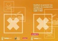 Sustituir es prevenir los riesgos de sustancias disolventes ... - CCOO
