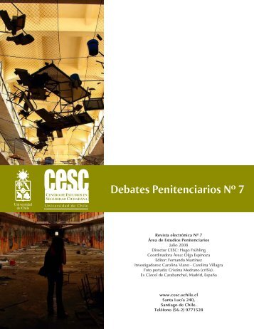 Debates Penitenciarios Nº 7 - Centro de Estudios en Seguridad ...