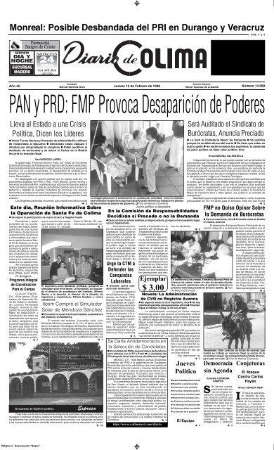 Pagemaker 4 0 P1a Pm4 Universidad De Colima