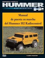 Manual de puesta en marcha del Hummer H2 Radiocontrol