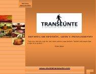 edición 10 - Revista Transeúnte