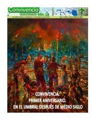 """No.7, enero-febrero 2009  """"Convivencia: primer aniversario"""